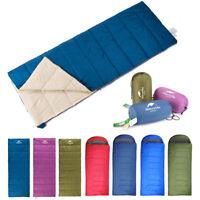 Ultralight Cotton Camping Sleeping Bag Outdoor Waterproof Hiking Adult Envelope