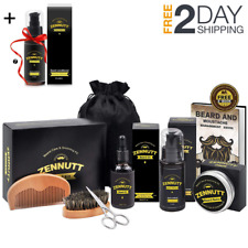 Beard Grooming Kit Men Mustache Comb Growth Oil Taming Style Facial Care Supplie