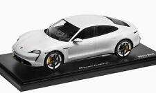 1:18 SPARK 2020 PORSCHE Taycan Turbo S carrara white LE 2,000 pcs. DEALER PROMO