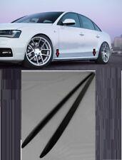 AUDI A4 B8 8K SPOILER MINIGONNE LATERALI S-LINE DESIGN SOTTO PORTA___>>