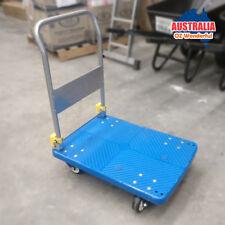 150kg Folding Heavy Duty Platform Trolley Hand Foldable Cart Industrial