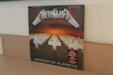 "Metallica Master of Puppets NEW & SEALED 12"" vinyl LP Blackened Recordings"