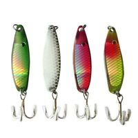 4pcs Lot Spinner Baits Fishing Lures Crank Floating Baits Tool 5cm 1.97″ 6.5g