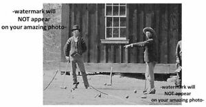 Close-Up of Billy the Kid PHOTO William Bonney REGULATORS Gang Members