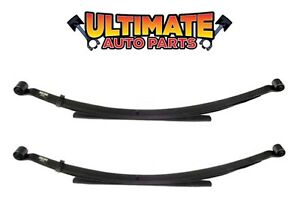 Rear Leaf Springs w/Bushings Set (Left and Right) Code R for 96-97 Ford Ranger