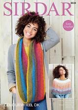 Sirdar Colourwheel Crochet Patterns 8028 and 8030