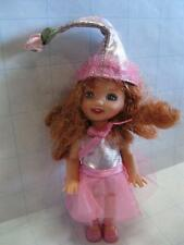 Barbie KELLY WIZARD OF OZ Doll-Pink Munchkin Red Hair Freckles Dress Hat Clothes