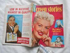 Screen stories Magazine-NOVEMBER,1953-BETTY GRABLE-MARILYN MONROE