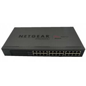 Netgear ProSafe Plus 24 Port Switch JFS524E (No Ears)