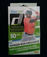 2020 Panini DONRUSS Baseball Hanger Box Exclusive 6 Holo ORANGE AND 2 DIAMOND PA