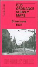 Old Ordnance Survey Map Sheerness 1931