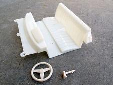 New Tamiya 1/10 RC Toyota Hilux Bruiser TrailFinder Interior seat steering wheel