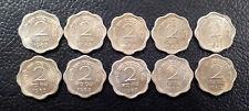 2 PAISE 1963 CALCUTTA MINT  COPPER NICKEL UNC 10 COINS LOT-RARE