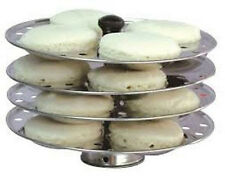 RECO 100% STAINLESS STEEL,IDLI MAKER.IDLI STAND,KITCHEN APPLIANCES,4 PIECE STAND