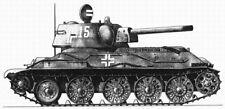 IMEX HENG LONG WASAN TRUMPETER 1/16 BEUTEPANZER T-34/76 & T-34/85 DECALS-NEW!