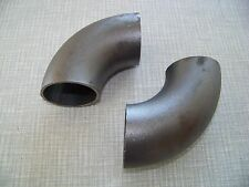 Rohrbogen 90 ° Schweißbogen, Metallbogen, Bogen, 3 S  Rohr 76,1 mm x 2,9 mm