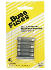 Bussmann HEF-1 Communication Equipment Fuse Kit, 1 Amp, Card 5
