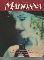 Madonna Her Complete Story An Unauthorized Biography 1991 Hardcover Book