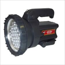 Big Large Size Sized Rechargeable Battery Operated LED Flashlight Lamp