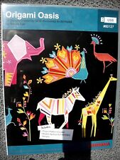 BERNINA AND OESD ORIGAMI OASIS MACHINE EMBROIDERY PATTERNS #80127~NEW/UNOPENED