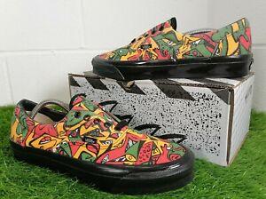 Vans OG Era LX Mens Shoes Saffron Night Eyes Jungle Art Lace Up Size UK 9 EU 43