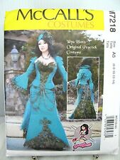 Yaya Han Cosplay Peacock Feather Dress PATTERN McCall's M7218 A5 6 8 10 12 14