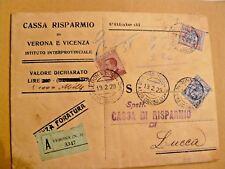 """1923.BEL FRANCOBOLLO DA 5 LIRE DELL' """"AQUILA SABAUDA"""" + ALTRI MOLTI  BEI TIMBRI"""