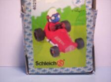 Smurfs red Racing Car Driver in RED suit SJ1238