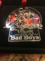 Disney Villains Bad Boys Boxed Pin