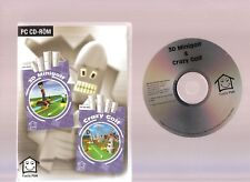 3D MINIGOLF & CRAZY GOLF. 2 GREAT ARCADE GOLF GAMES FOR THE PC!!
