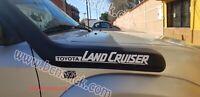 2x Adhesivas Land Cruiser Vinilo Pegatina Coche4x4 Toyota Offroad Calcomania