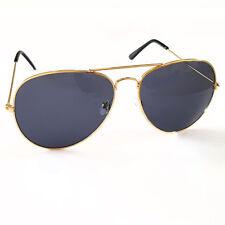 Lunettes de soleil lunettes d'Aviateur Lunettes doré Sombre stylé Cool