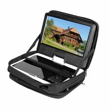 New Black 9.5 Portable DVD Player Case Carry Bag with Strap for Car Headrest Mo