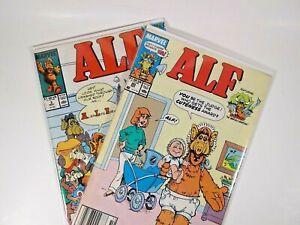 Lot of 2 ALF Comics #3 & 20 Marvel