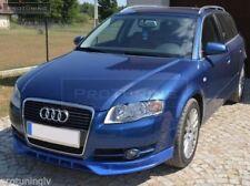 For Audi A4 B7 05-08 Front Bumper spoiler S line lip Valance addon S-Line s4 rs4
