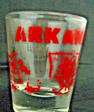 Arkansas Shot Glass 1 oz