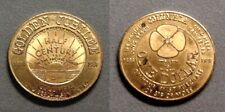 1938 GOLDEN JUBILEE OF THE COLUMBIA STORES IN LONG BEACH CA GOOD FOR $1.00 TOKEN