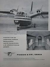 5/1960 PUB PIAGGIO P.166 AVION AIRCRAFT FLUGZEUG ORIGINAL GERMAN AD
