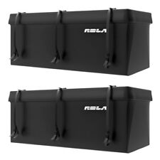Rola Tuffbak Rainproof Waterproof Luggage Trailer Hitch Cargo Carrier (2 Pack)