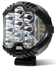 """7"""" INCH ROUND FULL LED DRIVING LIGHT SPOT LIGHT WITH SIDE LIGHT E-APPROVED"""