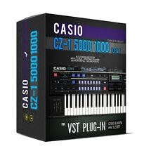 CASIO CZ-1 5000 1000 101 Sample Library for VST AU 32 and 64 bit sounds Plugin