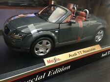 Audi TT Roadster Diecast 1:18 1/18 Maisto - Gray
