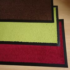 Multimat Sauberlauf Teppich Matte Schmutzfangmatte Uni 39,5 x 59,5 cm