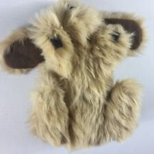 "Animal Express Puppet VTG 1978 Puppy Dog Anva Hand Stuffed 12"" Floppy Ears Toy"