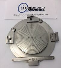 """4.25"""" Disco Dicing Saw Stainless Steel Chuck Vacuum Table K&S Ceramic Silicon 1"""