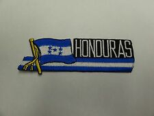 PATCH COUNTRY FLAG SEW ON FOR JACKET SHORTS OR PANTS HONDURAS