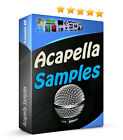 11GB Voice Vocal Vox Acapella Samples Electro House Dubstep Trance Choir FX MPC