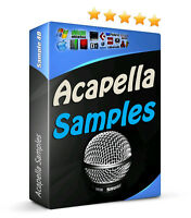 11GB Voice Vocal Vox Acapella Samples Electro House Dubstep Trance Choir FX MPC