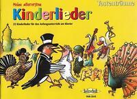 Klavier Noten : Meine allerersten Kinderlieder -  Anfänger  sehr leicht VHR 3543