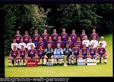 Mannschaftsfoto Bayern München 1996-97 seltenes Foto